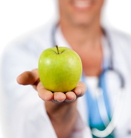 dr-with-apple